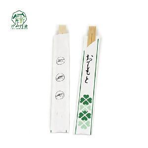 23cm disposable bamboo twins restaurant chopsticks