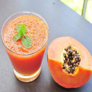Aseptic High Quality Papaya Concentration Pulp Exporters/What s app no:+91 9626995222