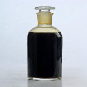 Red -brown transparent solution poly ferric  iron  iii sulphate liquid