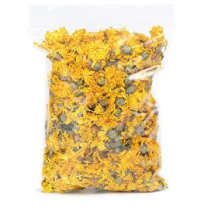 High Quality Dried Herbal Tea Golden Yellow Chrysanthemum Flower For Tea