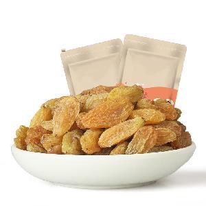 Chinese Xinjiang Golden Jumbo Seedless Raisin