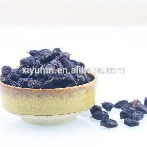 High quality organic black currant raisins, black raisins