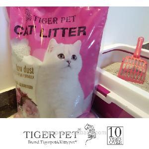 High quality hot sale cat sand silica