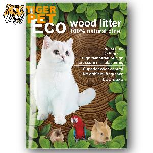 100% Russian Import Pine Wood Pellets Flush-able Cat Litter