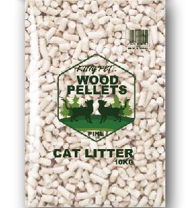 The World Best Moisture Proof Bag Pine Wood Cat Litter Used For Pet Cleaning