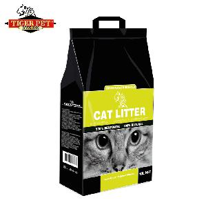 Best selling pet products paper cat litter clay