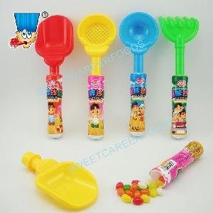 Funny Big Beach  Toys  With Colorful Chewy Jelly Beans Gummy Soft  Candy   Sweet s