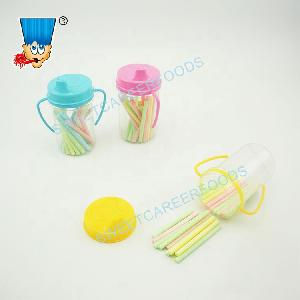 Fruit Flavor Toothpick Bottle Sour Powder CC Stick Candy Sweets