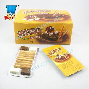 Chocolate With Stick Biscuit Confectionery