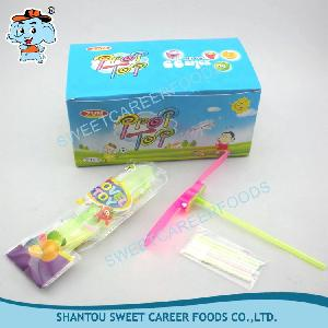 Light Up Flying Toy With CC Stick Candy