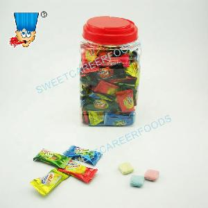 filled jam bubble gum chewing gum with jam filling