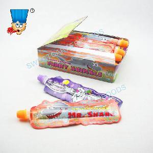 Animal Shape Fruit Jam Liquid Jelly Gel Candy Sweets
