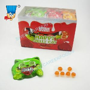 cat eyes package gummy jelly soft candy sweets