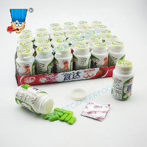 Xylitol Chewing Gum With Popping Candy