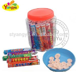 China supplier Roll Candy stick sweet with fruity flavor for chinlder