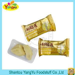 delicious durian surface with white chocolate candy