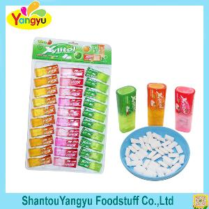 3 in 1 Fruit Xylitol Pillow Chewing Gum