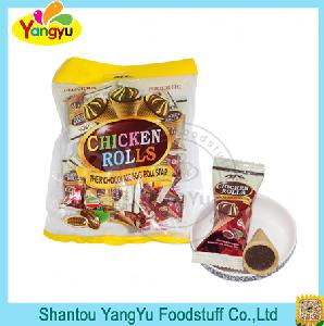Colorful Bag Packing Mini Ice Cream Chocolate Biscuits