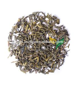 Yunnan Green Tea leaves