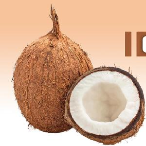 Indian  fully   husked   coconut