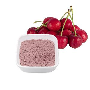 Custom Packaging Dried Fruit Cherry Powder Freeze Dried Sour Cherry Freeze Dried Fruit Powder