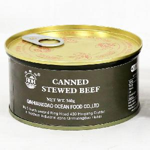 Beef  Products   Canned  Stewed Beef 340g military quality