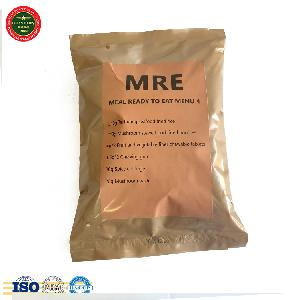 MRE seafood fried rice self heating instant food