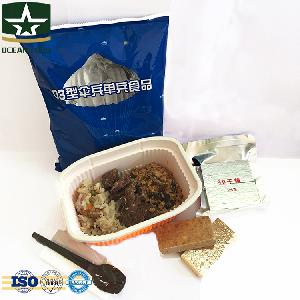 MRE Army food ration, meal ready to eat individual
