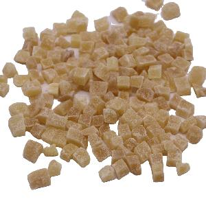 BRC certified Crystallized ginger dried ginger dice and slice