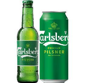 Carlsberg Premium alcoholic beer 500ml