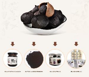 Organic   black   garlic