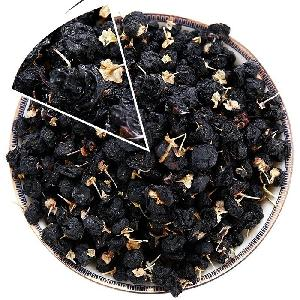 Wholesale  top grade  Chinese Black Goji  dried   fruit  Herb tea