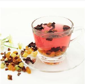 Most popular chinese mix fruit granule tea