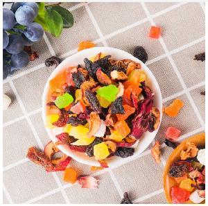 100% Nature Health Colorful mixed fruits flower tea peach flavor tea