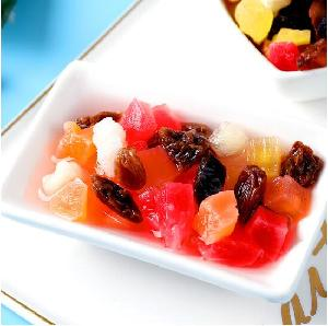 Accept OEM mix fruit granule tea from china