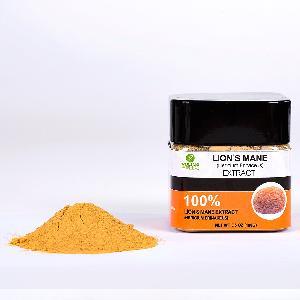 USDA Organic Herbal Supplement Lion's Mane Mushroom 30% Polysaccharide/ Beta Extract