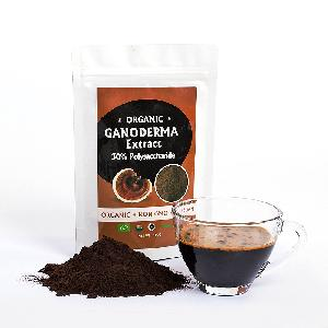 OEM Herbal medicine organic red broken spore ganoderma lucidum plant powder reishi mushroom extract 30% Polysaccharides