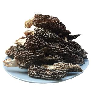 Factory Wholesale Price Dried Black Morel Mushroom Boost Digestion Immune System