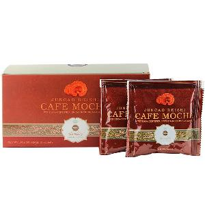 high quality bio herbs ganoderma 3 in 1 reishi mushroom extract flavored instant mocha coffee