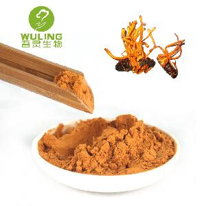 Wuling Herbal Plant Extract Cordyceps Wild Sinensis Militaris Yarsagumba Mushroom Extract Powder