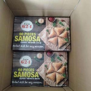Hot Sale China Food Frozen Vegetable  Samosa  Curry Trigon