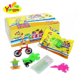 Cheap Surprise Toy with Fruits CC  stick   Candy