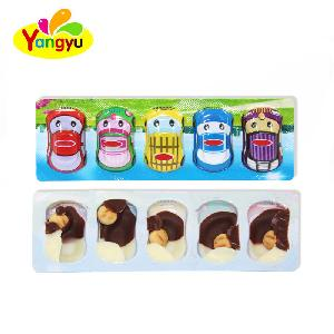 5 in 1 Car Shape  Chocolate   Stick  Sweet  Chocolate  Candy