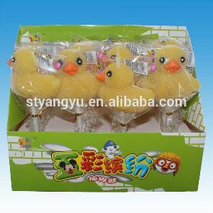 Yellow  Duck  Shape  Candy