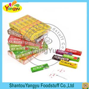 Wholesale Bottle fruity stick  xylitol   sugar   free  energy chewing  gum
