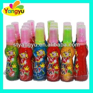 Hot Selling Sour Sweet Fruity Spray Candy For Kids
