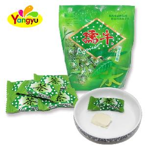 Milk Candy Series Sweet Green Tea Milk Soft Chewy Candy