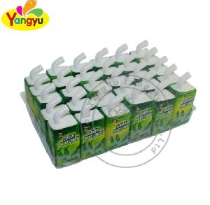 Drink tablet candy green mint hard candy