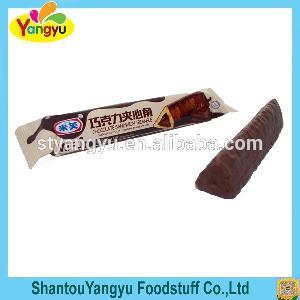 Chocolate Sandwich Triangle  Stick   Biscuit