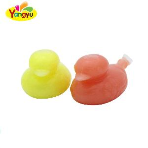 Crazy Halal Fruity Flavor Duck Shape Jelly Candy
